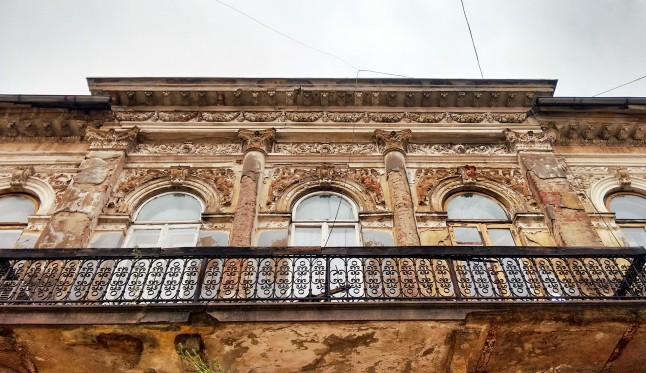 Casa del barrio francés, Bucarest. Fotografía de Borja Rivero